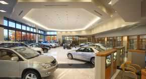 Plaza Lexus Showroom