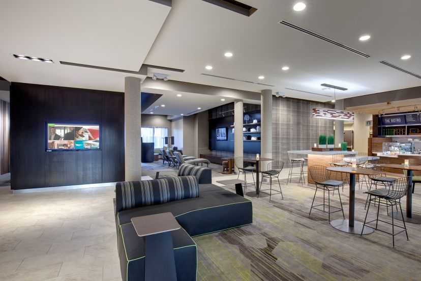 Courtyard Marriott lobby Chesterfield