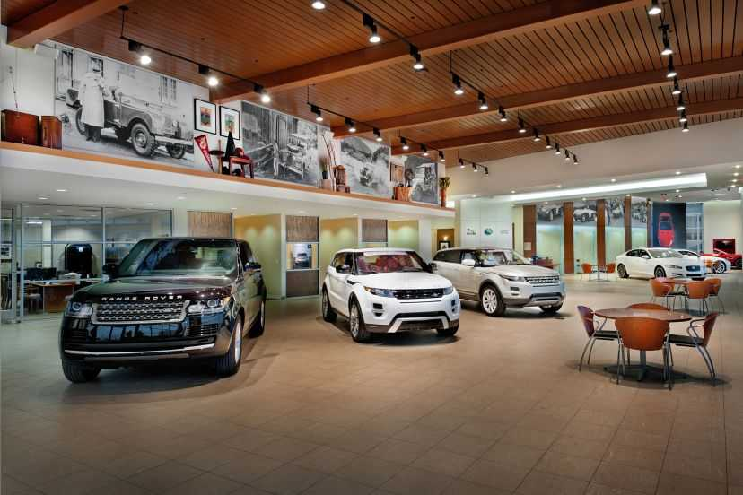 Plaza Jaguar Land Rover Interior