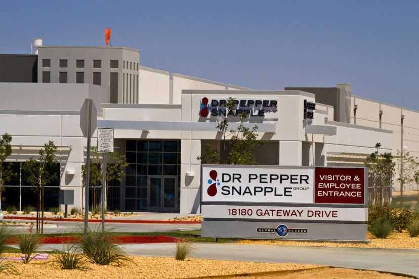 Dr Pepper Snapple Exterior