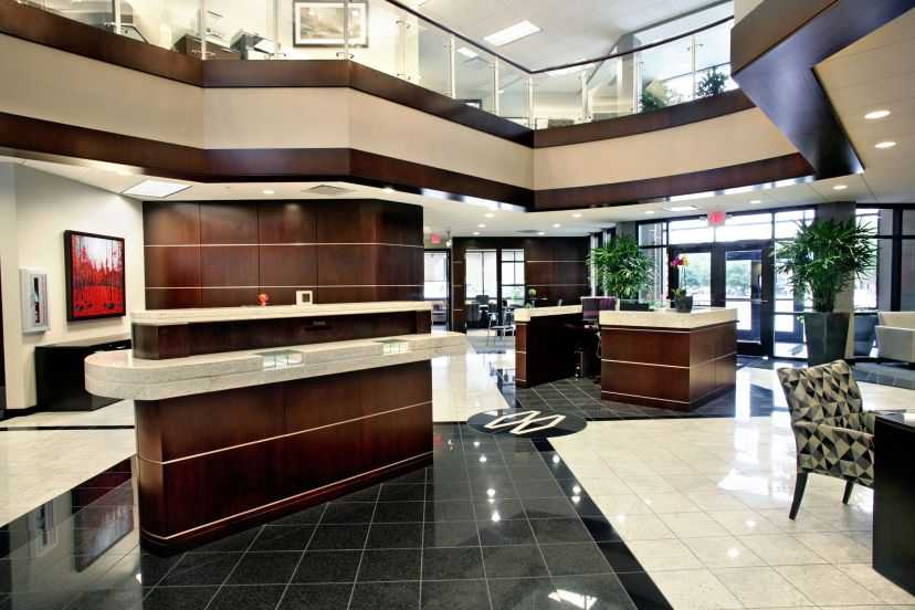 Midwest Regional Bank Interior Lobby
