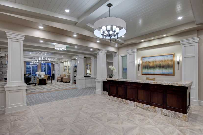 The Sheridan at Chesterfield Place Interior Lobby