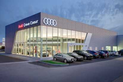 Plaza Audi Exterior Dealership
