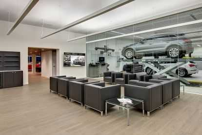 Plaza Audi Interior Waiting
