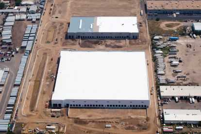CenterCore Distribution Center Aerial View