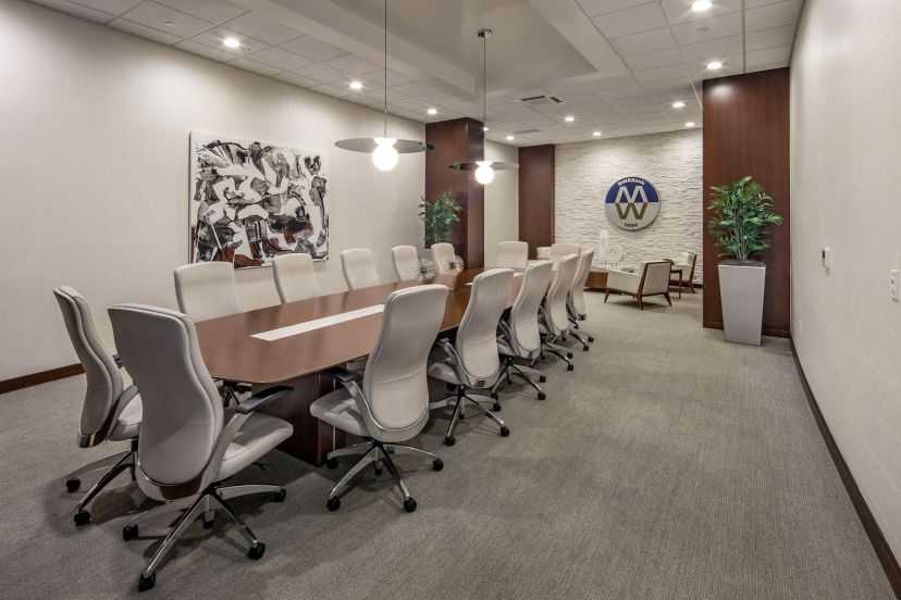 Midwest Regional Bank Clayton conference room