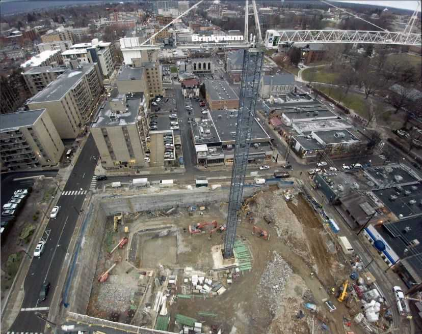 HERE State College Construction Progress 2-11-19